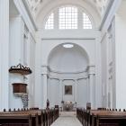 Köthen. Kirche St. Maria, Kirchenschiff. 2011.