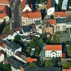 Rundflug 2014 - Köthen (Anhalt), Magdeburger Turm, Hahnemannhaus, Spital.