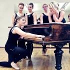 Ballettgruppe, Tanzstudio Julia in Bernburg. 2012.