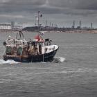 Göteborg. Hafen Saltholmen. 2014.